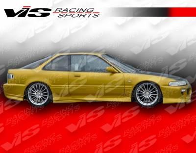 VIS Racing - Acura Integra 2DR VIS Racing Xtreme Side Skirts - 90ACINT2DEX-004