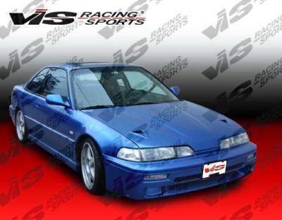 VIS Racing - Acura Integra 2DR VIS Racing Techno R Side Skirts - 90ACINT2DTNR-004