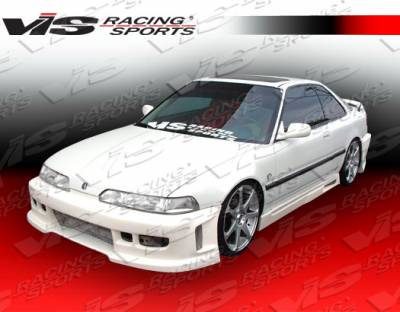 VIS Racing - Acura Integra 2DR VIS Racing Z1 boxer Side Skirts - 90ACINT2DZ1-004
