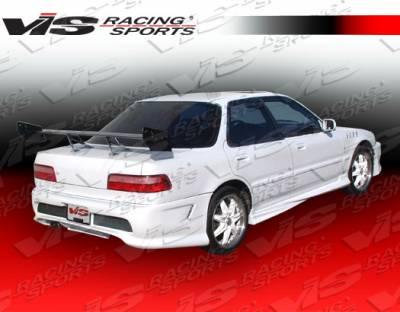 VIS Racing - Acura Integra 4DR VIS Racing Xtreme Side Skirts - 90ACINT4DEX-004