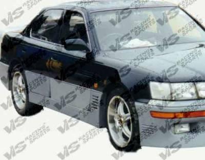 VIS Racing - Lexus LS VIS Racing VIP Side Skirts - 90LXLS44DVIP-004