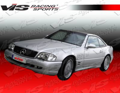VIS Racing - Mercedes-Benz SL VIS Racing Euro Tech-2 Side Skirts - 90MER1292DET2-004