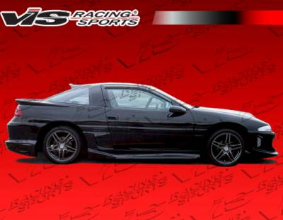 VIS Racing - Mitsubishi Eclipse VIS Racing Striker Side Skirts - 90MTECL2DSTR-004