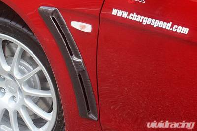 Chargespeed - Mitsubishi Lancer Chargespeed Front Fender Duct - Pair