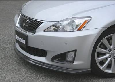 Chargespeed - Lexus IS Chargespeed Bottom Line Front Bumper Side Cowl - Pair