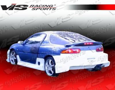 VIS Racing - Mazda MX3 VIS Racing Striker Side Skirts - 90MZMX32DSTR-004