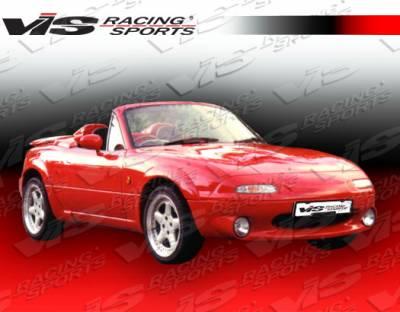 VIS Racing - Mazda Miata VIS Racing Magnum Side Skirts - 90MZMX52DMAG-004