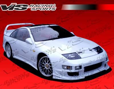 VIS Racing - Nissan 300Z VIS Racing Ballistix Side Skirts - 90NS3002DBX-004