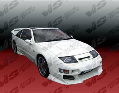 VIS Racing. - Nissan 300Z VIS Racing Demon Side Skirts - 90NS3002DDEM-004