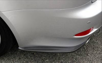 Chargespeed - Lexus IS Chargespeed Bottom Line Rear Caps - Pair