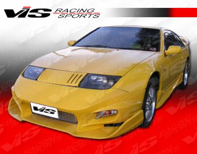 VIS Racing - Nissan 300Z VIS Racing Invader-2 Side Skirts - 90NS3002DINV2-004