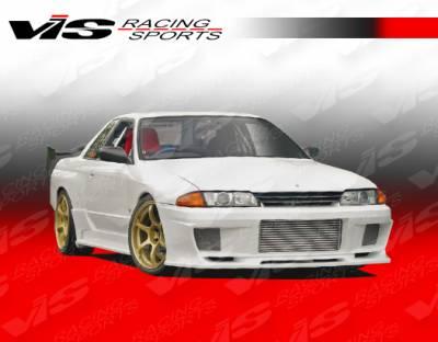 VIS Racing - Nissan Skyline VIS Racing Demon Side Skirts - 90NSR32GTRDEM-004
