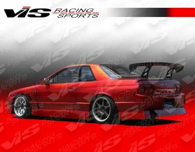 VIS Racing - Nissan Skyline VIS Racing V-Speed Type-2 Side Skirts - 90NSR32GTRVSP2-004