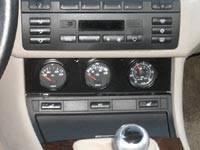 Custom - 3 Gauge Instrument Panel