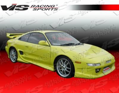 VIS Racing - Toyota MR2 VIS Racing Invader Side Skirts - 90TYMR22DINV-004