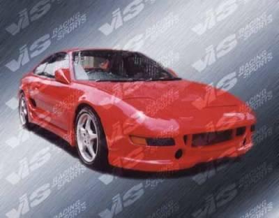 VIS Racing - Toyota MR2 VIS Racing Strada F1 Side Skirts - 90TYMR22DSF1-004