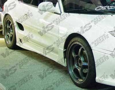 VIS Racing - Toyota MR2 VIS Racing Techno R Side Skirts - 90TYMR22DTNR-004