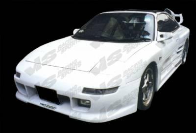 VIS Racing - Toyota MR2 VIS Racing Techno R Widebody Side Skirts - 90TYMR22DTNRWB-004
