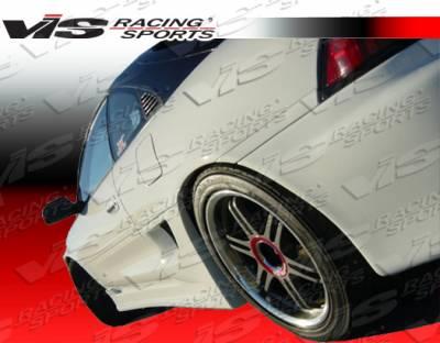 VIS Racing - Toyota MR2 VIS Racing Walker Side Skirts - 90TYMR22DWAL-004
