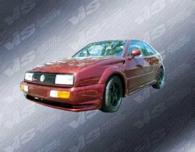 VIS Racing - Volkswagen Corrado VIS Racing Max Side Skirts - 90VWCOR2DMAX-004