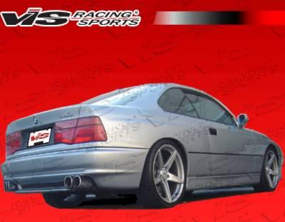 VIS Racing - BMW 8 Series VIS Racing A Tech Side Skirts - 91BME312DATH-004