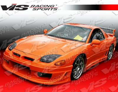 VIS Racing. - Mitsubishi 3000GT VIS Racing Ballistix Side Skirts - 91MT3K2DBX-004