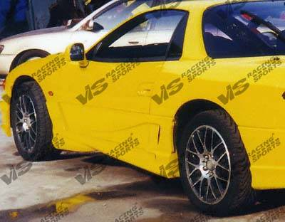 VIS Racing - Mitsubishi 3000GT VIS Racing Xtreme Side Skirts - 91MT3K2DEX-004