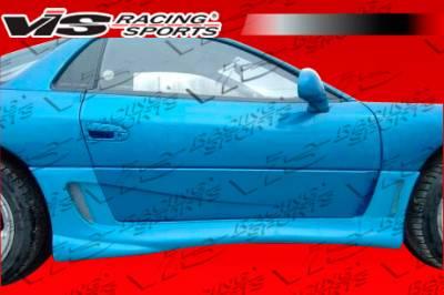 VIS Racing - Mitsubishi 3000GT VIS Racing Fighter Side Skirts - 91MT3K2DFIG-004
