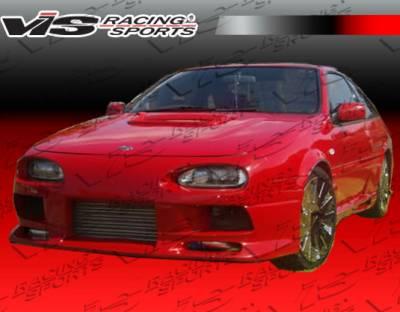 VIS Racing - Nissan NX VIS Racing J Speed Side Skirts - 91NSNX2DJSP-004