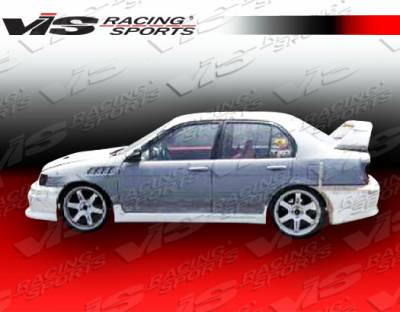 VIS Racing - Toyota Tercel VIS Racing EVO-3 Side Skirts - 91TYTER2DEVO3-004