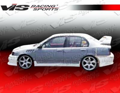 VIS Racing - Toyota Tercel VIS Racing EVO-3 Side Skirts - 91TYTER2DEVO3-004