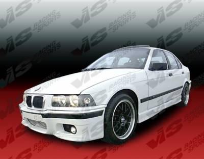 VIS Racing. - BMW 3 Series VIS Racing E46 M3 Style Side Skirts - 92BME362DE46-004