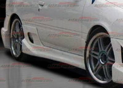 AIT Racing - Nissan 200SX AIT Racing Drift Style Side Skirts - N20095HIDFSSS