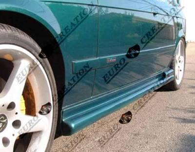 VIS Racing - BMW 3 Series VIS Racing Euro Tech Side Skirts - 92BME362DET-004