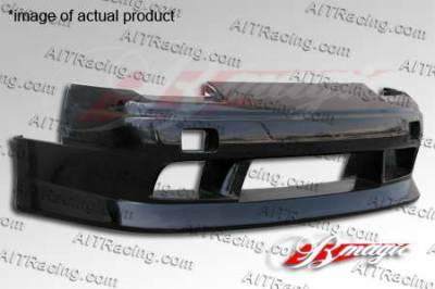 AIT Racing - Nissan 240SX AIT Racing D1 Style Front Bumper - N24089BMD1SFB