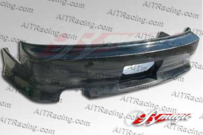 AIT Racing - Nissan 240SX AIT Racing D1 Style B-Magic Rear Bumper - N24089BMD1SRB