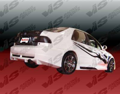 VIS Racing - Honda Civic 2DR & 4DR VIS Racing Techno R Side Skirts - 92HDCVC2DTNR-004