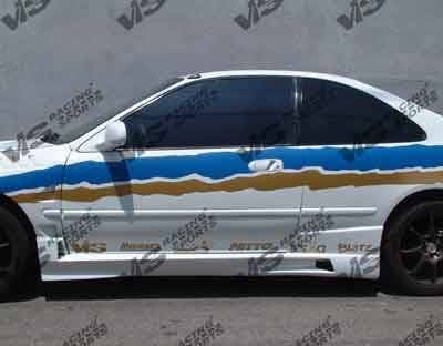 VIS Racing - Honda Civic 2DR VIS Racing XGT Side Skirts - 92HDCVC2DXGT-004