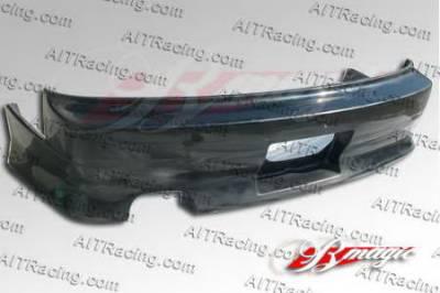 AIT Racing - Nissan 240SX AIT Racing D1 Style Rear Bumper - N24089HID1SRB3