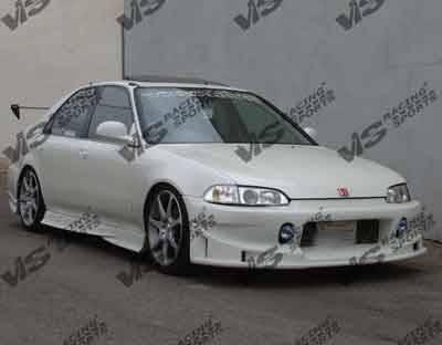 VIS Racing - Honda Civic 4DR VIS Racing Evolution Side Skirts - 92HDCVC4DEVO-004