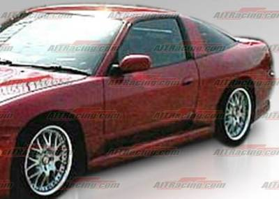 AIT Racing - Nissan 240SX AIT Racing G4S Style Side Skirts - N24089HIG4SSS