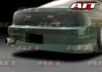 AIT Racing - Nissan 240SX AIT URAS4 Style Rear Bumper - N24089HIURARB