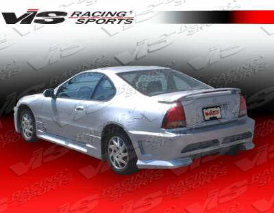 VIS Racing - Honda Prelude VIS Racing Omega Side Skirts - 92HDPRE2DOMA-004