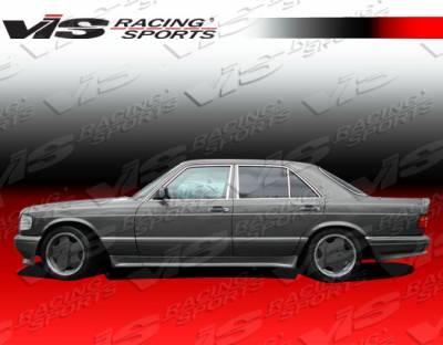 VIS Racing - Mercedes-Benz S Class VIS Racing Euro Tech Side Skirts - 92MEW1404DET-004