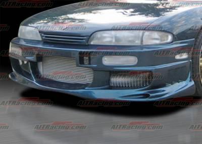 AIT Racing - Nissan 240SX AIT Racing BMX Style Front Bumper - N24095HIBMXFB