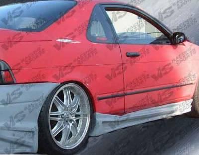 VIS Racing - Toyota Paseo VIS Racing Ballistix Side Skirts - 92TYPAS2DBX-004