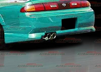 AIT Racing - Nissan 240SX AIT Racing Charger Style Rear Bumper - N24095HICHGRB