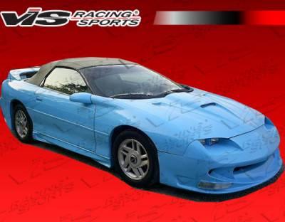 VIS Racing - Chevrolet Camaro VIS Racing Sniper Side Skirts - 93CHCAM2DSNI-004