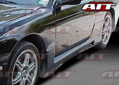 AIT Racing - Nissan 240SX AIT R33 Style Side Skirts - N24095HIR33SS