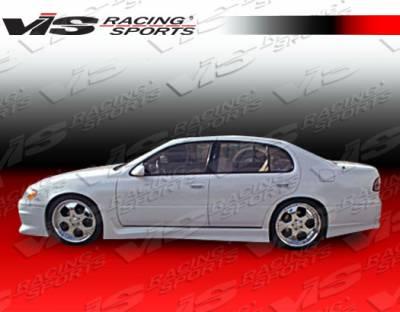 VIS Racing - Lexus GS VIS Racing Cyber-1 Side Skirts - 93LXGS34DCY1-004